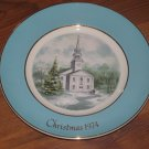 1974 Avon Christmas Plate Series Second Edition Country Church Made in England