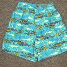 NWOT Sz 7 OP Fish/Shark Swim Trunks/Shorts