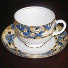 Rare 1927-1935 Vintage Royal Albert Crown China Hawthorne Cup and Saucer England