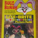 Vintage 1978 Warner Bros. Bugs Bunny Lite-Brite Picture Refill Never Opened