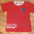 New Toddler Boys Sz 3T Carters S/S MVP Sports T-Shirt