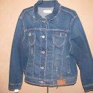 New Womens Plus Sz 3X Amethyst Jeans Blue Jean Jacket