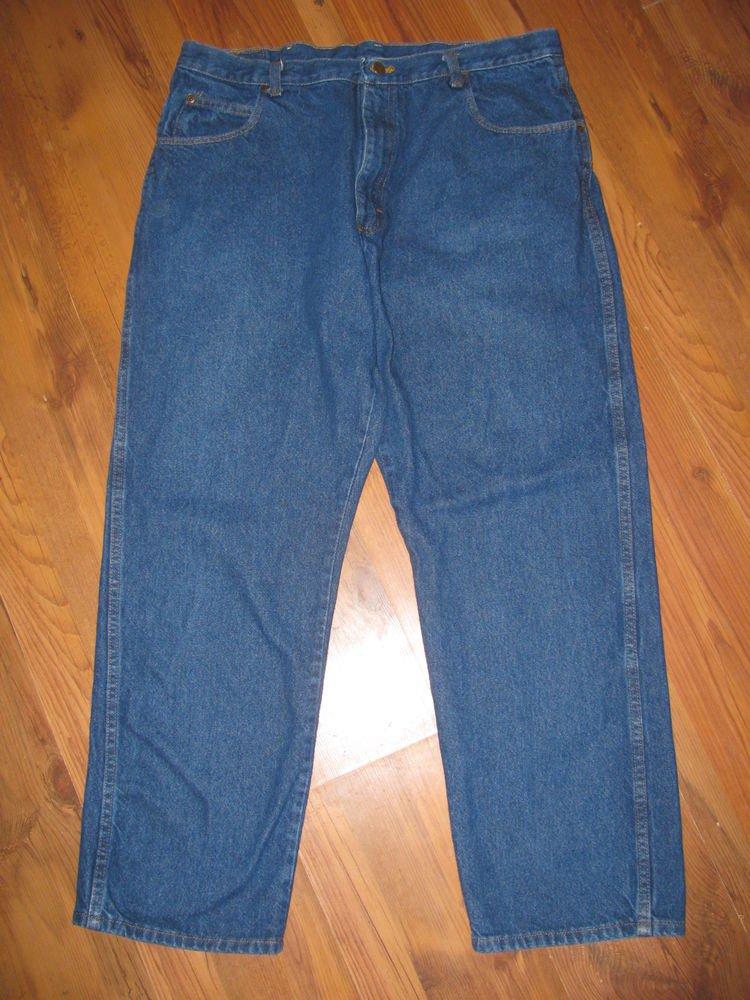Mens Sz 38 x 30 Red Kap Denim Blue Jeans