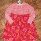 New Girls Sz 6X Healthtex L/S Floral Dress Retails $42