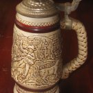 1980 Avon The Last Roundup Chuck Wagon Cattle Drive Stein W/Lid Numbered