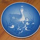 Royal Copenhagen Bing & Grondahl B&G Porcelain Mothers Day Plate Mors Dag 1973
