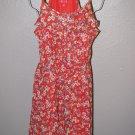 New Womens Sz 16 Elle Floral Ruffled Spaghetti Strap Summer Dress Retail $64