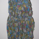 New Junior/Jr. Sz 9 Princess Vera Wang Sleeveless Ruffled Dress Retails $58