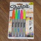 Sharpie NEON Permanent Fine Tip Markers 5-Assorted Colors