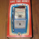 """VINTAGE """"THE ALL AMERICAN"""" DWELL TACHOMETER MODEL 549 BY RITE AUTOTRONICS"""