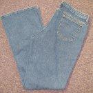 Womens Sz 16 L Riders Blue Jeans EUC
