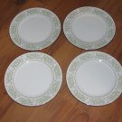 """Lot of 4 Taihei Springtime Bread and Butter Plates 6 3/8"""""""