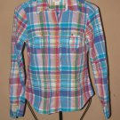 Womens Sz 2 American Eagle Outfitters L/S Blouse/Shirt EUC