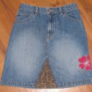 Girls Sz 8 Gap Blue Jean Skirt