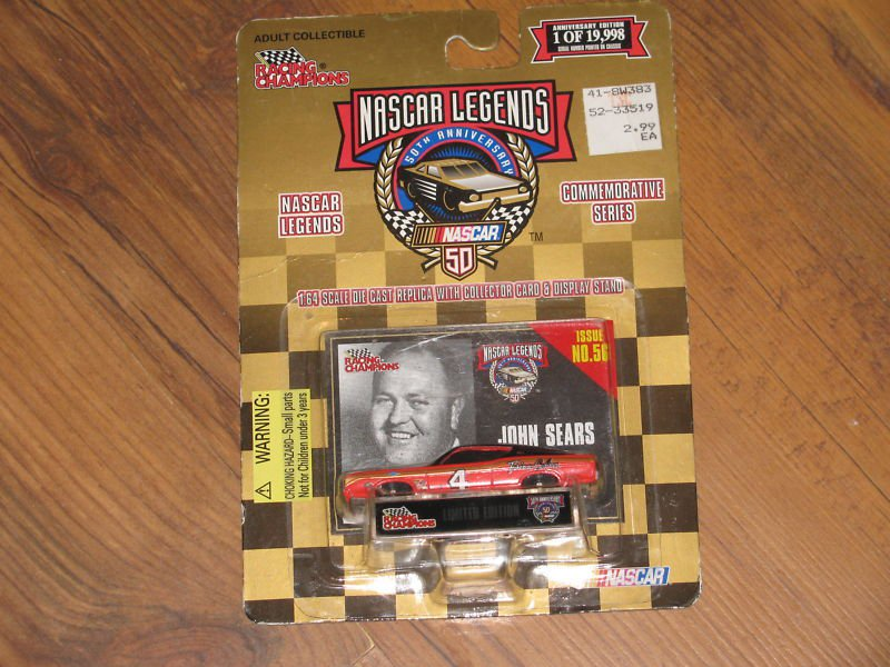 Racing Champions Nascar Legends 50th Anniversary Sears