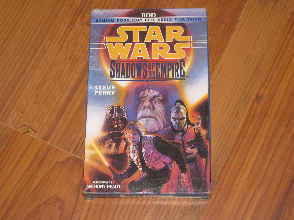 Star Wars Shadows of the Empire by Steve Perry (1996, Cassette, Abridged)