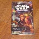 Star Wars Edge of Victory II Bk 2: Rebirth Bk 8 by J Gregory Keyes 2001 Cassette