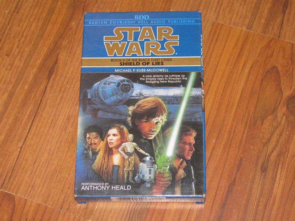 Star Wars Shield of Lies Bk 2 by Michael P Kube-McDowell 1996 Cassette Abridged