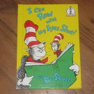 I Can Read With My Eyes Shut by Dr. Seuss (1978, Hardcover)