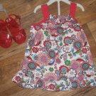 New Girls Sz 24 M Vitamin Kids 3 Piece Outfit  Sleeveless Dress Bloomers Sandals