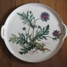 "Villeroy & Boch Botanica Handled Cake Plate 12 1/2"" Perfect"