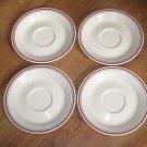 Set of 4 Corelle Abundance Saucers