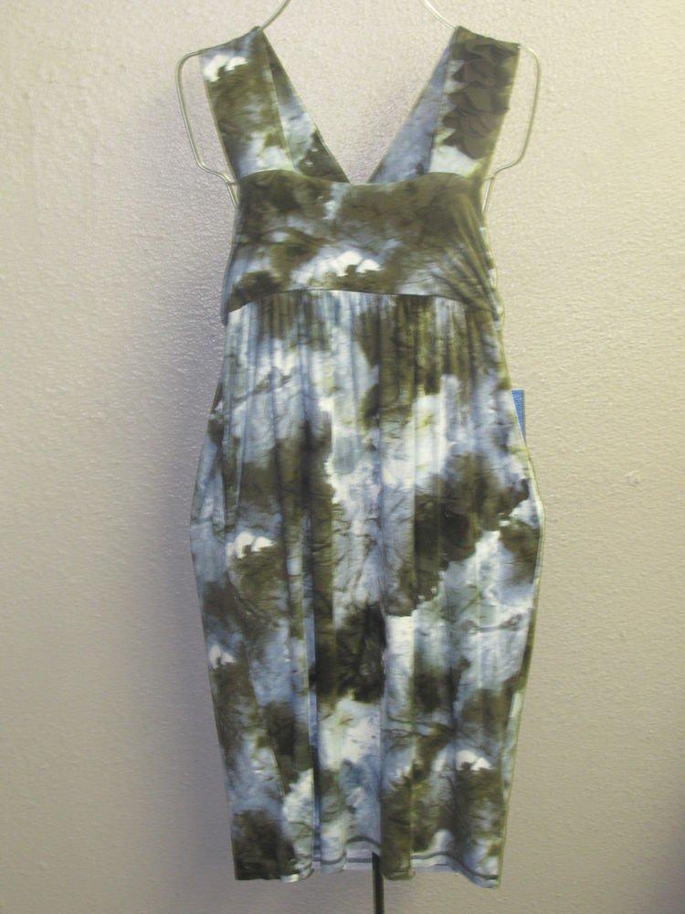 New Womens Sz M Vera Wang Sleeveless Knit Dress $58