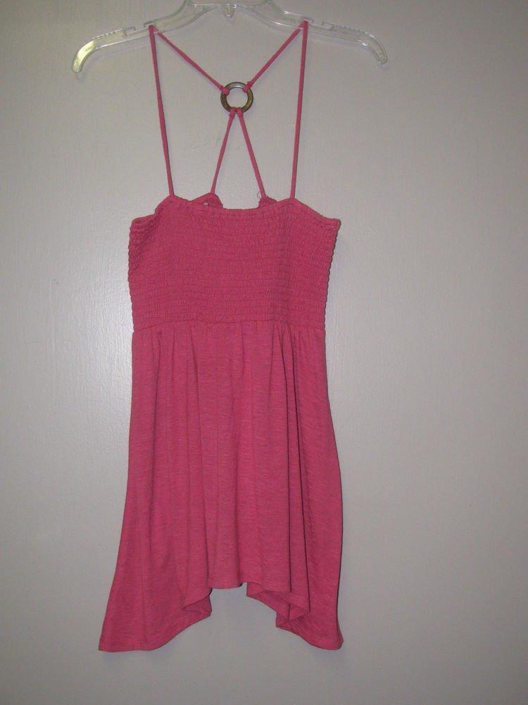New Womens/Juniors Sz L Weavers Pink Summer Blouse/Top