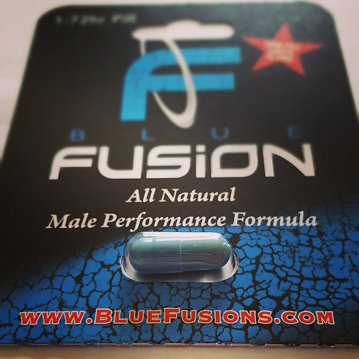 Bluefusion Male Sex Pill Male Enhancement Pill Max Sexual Libido ED helps with Erectile Dysfunction