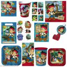 JAKE and the NEVERLAND PIRATES Birthday Party Supplies Set Kit Disney you pick