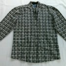 Wrangler Womens Shirt Blues Corduroy Flower Western Small Long Sleeve Size S