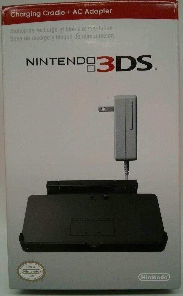 NINTENDO 3DS CHARGING CRADLE BATTERY dock DSI XL AC adapter