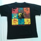 Disney Phineas Ferb Perry the Platypus Mammal of Action Black T Shirt XL 18/20