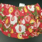 Gymboree 3-6 Months Baby Girl Shorts Bottom New NWT 3 6 Red Floral Flower Size