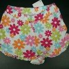 White Flower 12-18 Month 22-27 lbs Shorts Bottom 100% Cotton Gymboree Pounds