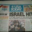 Lot Newspapers 1991 USA Today Bush Schwarzkopf Desert Storm