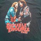 Travis Tritt Marty Stuart 1996 Double Trouble Concert Tour T Shirt XL X L Large
