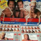 WCW Galoob Card Backers Package Wrestling action Figure Sting Flair OSTM