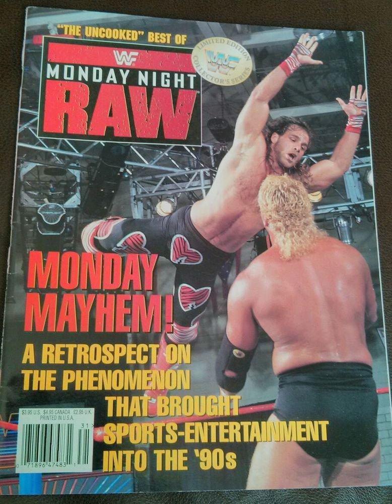 Lot of 10+ Vintage Wrestling Magazines WWE WWF WCW Raw Hulk Hogan Cactus nWo