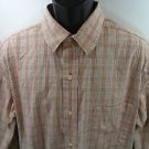 Eddie Bauer Shirt Men's Plaid Large L Classic Fit Button Front Pocket