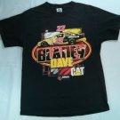 22 Caterpillar CAT NASCAR Dave Blaney Black Men's T Shirt Men's Medium M Davis