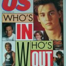 US Magazine 146 January 24 1991 Whos In Whos Out Johnny Depp Patrick Swayze TMNT