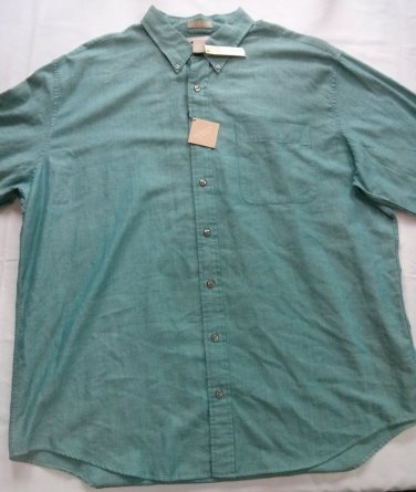 New Field Gear XL Mens Shirt The Big Blue Ridge Button Front Hunting X Large 1X