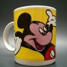 Team Mickey Base-Ball Mug Mouse Disney Coffee Tea Yellow