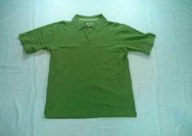 Columbia Sportswear Green Shirt Mens Medium M Polo Golf Outdoor Short Sleeve