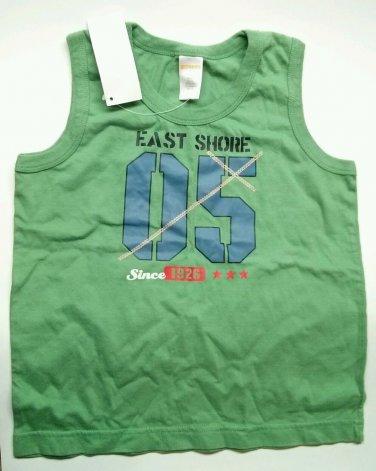 Boys Gymboree Tank Top 05 East Shore Summer Fishing Since 1926 Green size 5