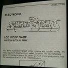 WWF Superstars LCD Watch Video Game Instruction Only Video Game Rude Hulk Hogan
