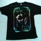 Kid Cudi Cud Life Tour 2011 Black Concert Show Town City Black Large L T Shirt