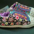 Skechers Twinkle Toes Girls 13-1 Light Up Sneaker Slipper Star New Med M Pink