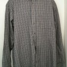 Arrow XLT Plaid Mens Shirt Pocket Button Long Sleeve Men Man Clothes Top X Large